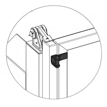 Charnière de porte à vantaux 3.5T avec graisseur