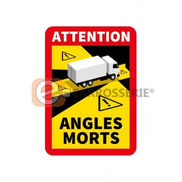 Sticker angle mort 2021