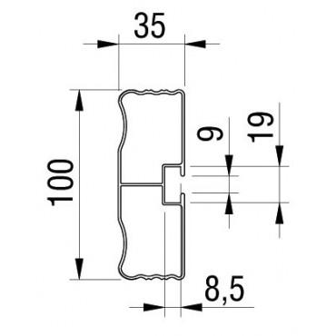 Barre aluminium 3.5m